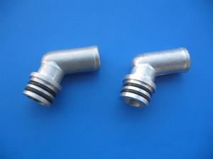 Koleno reduktoru KME Silver a Gold - kovové