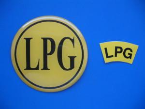 LPG nálepky