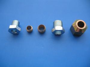 Spojovací materiál pro měděné potrubí